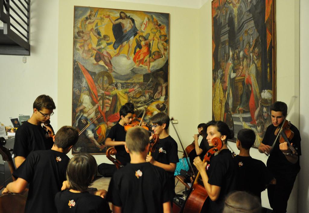 Gioachino Orchestra al Museo di S. Francesco