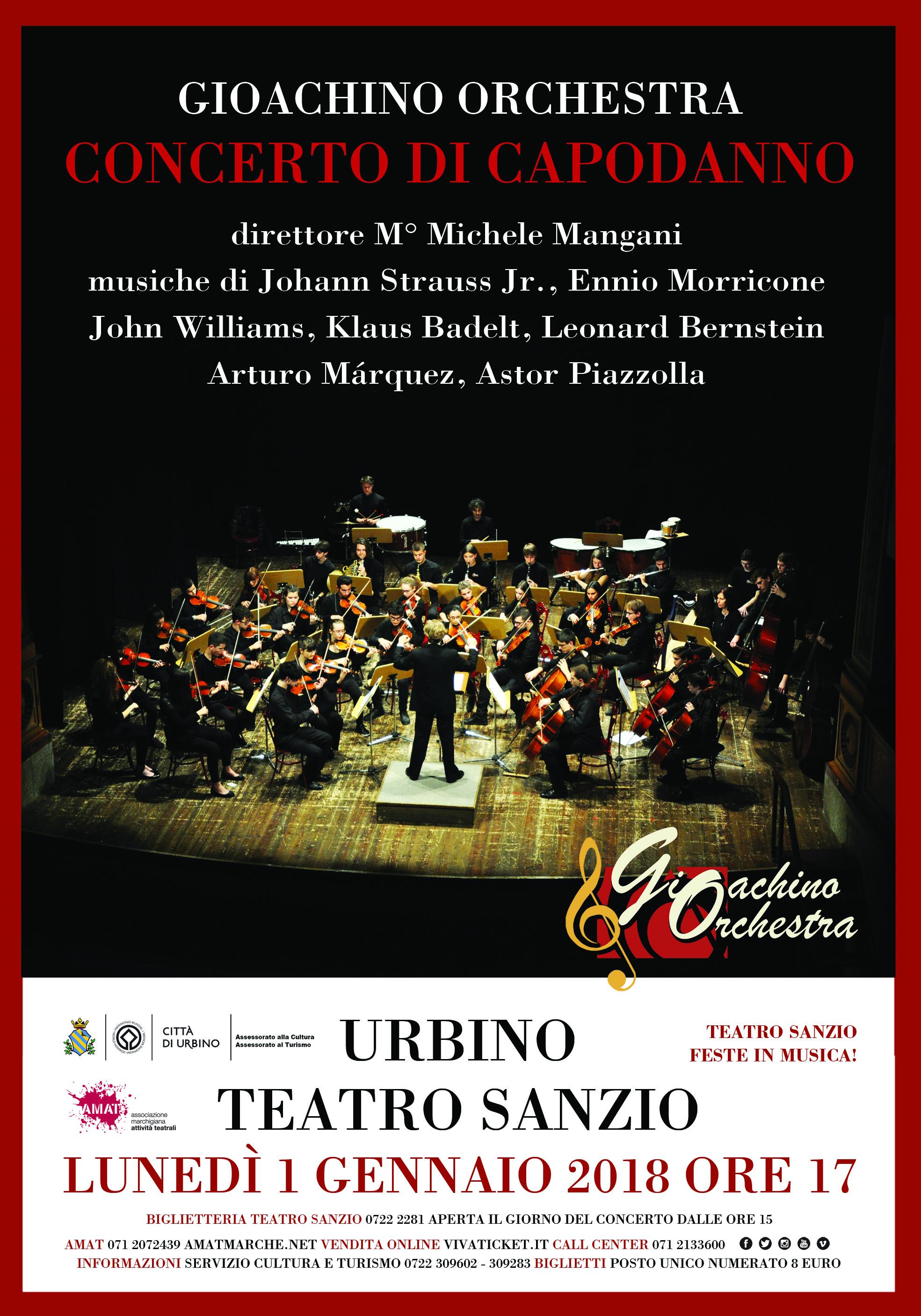 manif 70x100 Urbino Concerto Capodanno